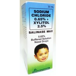 Xylitol ear drops